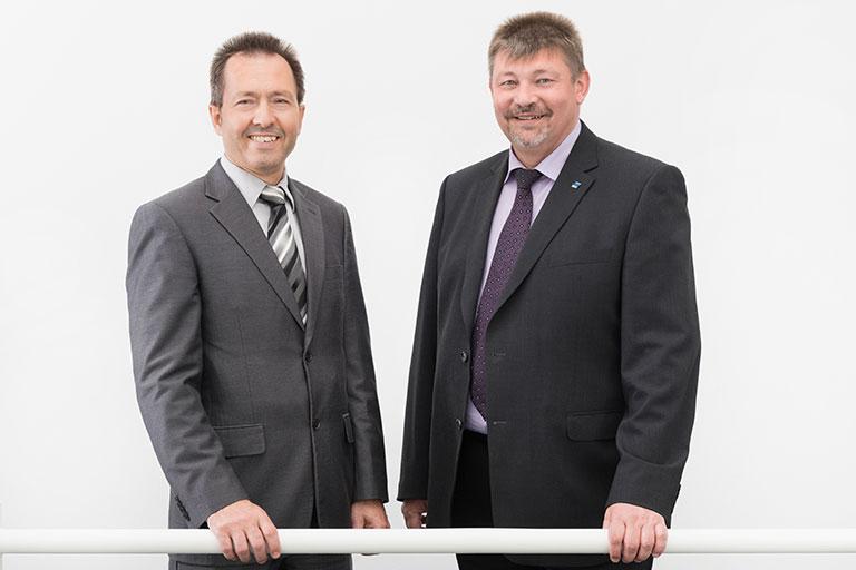 Die Geschäftsführung der WWS Schutz und Sicherheit GmbH: Eduard Tomm und Wolfgang Roth